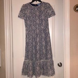 Stunning Draper James Lace Dress, NWT